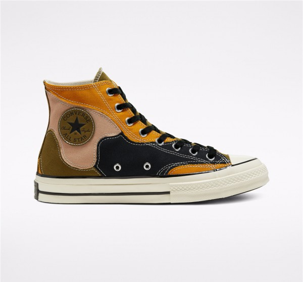 Converse Hacked Archive Chuck 70 High Top - Brown Unisex Shoe 168905C