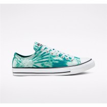 Converse Twisted Vacation Chuck Taylor All Star Low Top - Green Unisex Shoe 167930F
