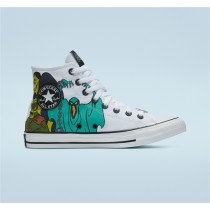 Converse X Scooby Doo Chuck Taylor All Star High Top - White Unisex Shoe 169076F
