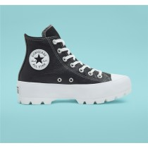 Converse Lugged Leather Chuck Taylor All Star High Top - Black Women's Shoe 567164C