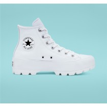 Converse Lugged Leather Chuck Taylor All Star High Top - White Women's Shoe 567165C