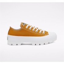 Converse Seasonal Color Chuck Taylor All Star Lugged Low Top - Yellow Women's Shoe 568621C