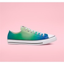 Converse Psychedelic Hoops Chuck Taylor All Star Low Top - Blue Unisex Shoe 167596C