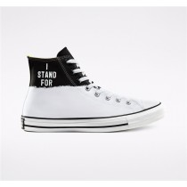 Converse I Stand For Chuck Taylor All Star High Top - White Unisex Shoe 165709C