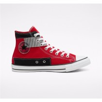 Converse Hacked Fashion Chuck Taylor All Star High Top - Red Unisex Shoe 168591C