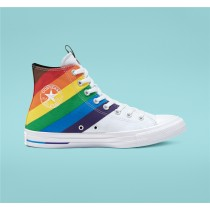 Converse Pride Chuck Taylor All Star High Top - White Unisex Shoe 167758C