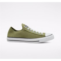 Converse Twisted Summer Chuck Taylor All Star Knit Slip Low Top - Green Unisex Shoe 167842C