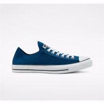 Converse Twisted Summer Chuck Taylor All Star Knit Slip Low Top - Blue Unisex Shoe 167843C