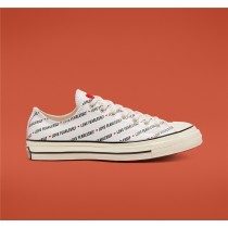Converse Love Fearlessly Chuck 70 Low Top - White Unisex Shoe 167346C