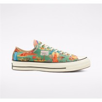 Converse Twisted Resort Chuck 70 Low Top - Green Unisex Shoe 167762C
