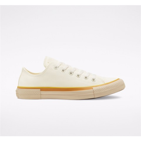 Converse Popped Color Chuck Taylor All Star Low Top - Yellow Women's Shoe 568806F