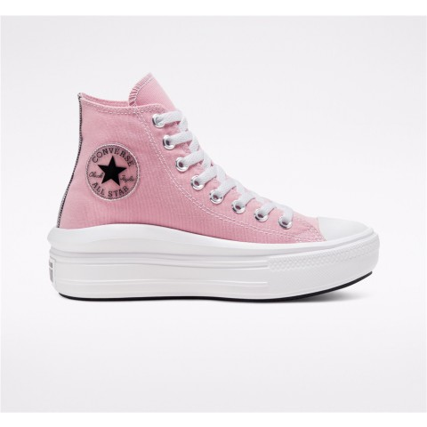 Converse Chuck Taylor All Star Move High Top - Pink Women's Shoe 568795C