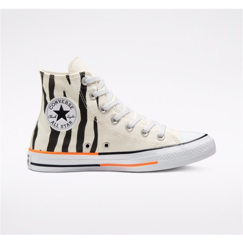 Converse Twisted Summer Chuck Taylor All Star High Top - White Unisex Shoe 167661F