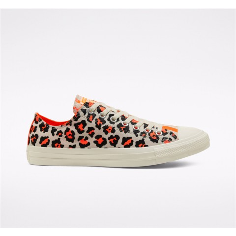 Converse Twisted Archive Prints Chuck Taylor All Star Low Top - Orange Unisex Shoe 167631F