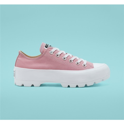 Converse Seasonal Color Chuck Taylor All Star Lugged Low Top - Pink Women's Shoe 568622C