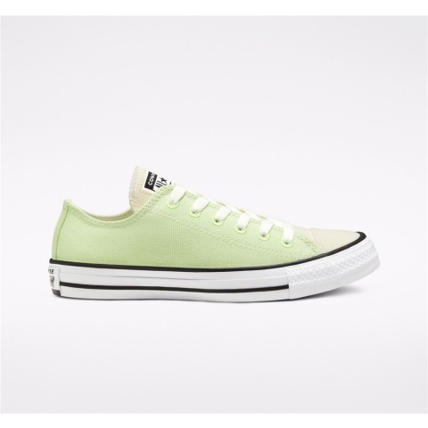 Converse Renew Cotton Chuck Taylor All Star Low Top - Green Unisex Shoe 167647C