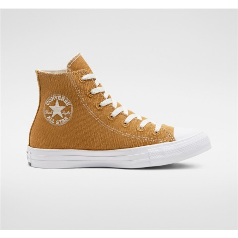 Converse Renew Cotton Chuck Taylor All Star High Top - Brown Unisex Shoe 166740C