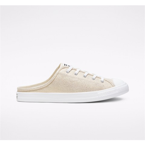 Converse Industrial Glam Chuck Taylor All Star Dainty Mule Slip Low Top - Gold Women's Shoe 568810F