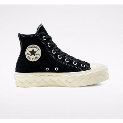 Converse Chuck Taylor All Star Lift Cable High Top - Black Women's Shoe 568687C