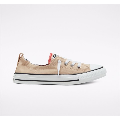 Converse Back To School Chuck Taylor All Star Shoreline Slip Low Top - White Women's Shoe 568537F