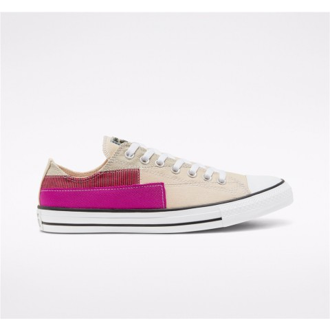 Converse Hacked Fashion Chuck Taylor All Star Low Top - White Unisex Shoe 168747C