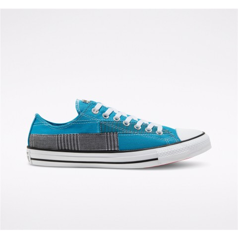Converse Hacked Fashion Chuck Taylor All Star Low Top - Blue Unisex Shoe 168592C