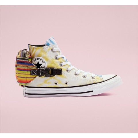 Converse Buckle Up Chuck Taylor All Star High Top - Pink Women's Shoe 568264C