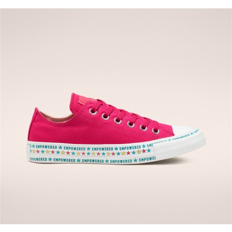 Converse Empowered By Her Chuck Taylor All Star Low Top - Pink Women's Shoe 567118C