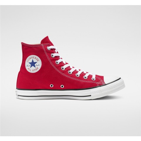 Converse Chuck Taylor All Star High Top - Red Unisex Shoe M9621