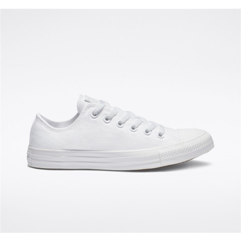 Converse Chuck Taylor All Star Low Top - White Unisex Shoe 1U647F