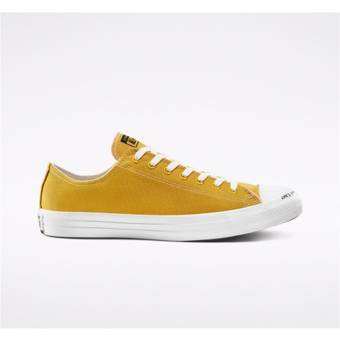 Converse Chuck Taylor All Star Renew Canvas Low Top - Gold Unisex Shoe 164920C