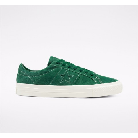 Converse Cons One Star Pro Low Top - Green Unisex Shoe 168654C