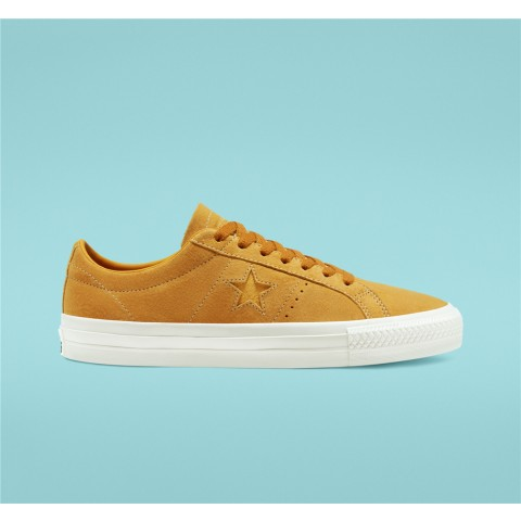 Converse Cons One Star Pro Low Top - Yellow Unisex Shoe 168653C
