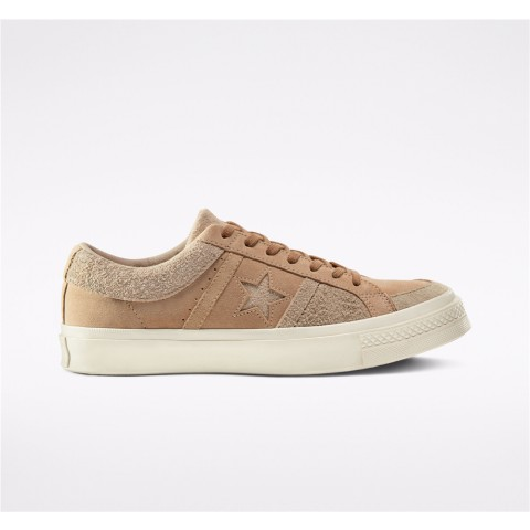 Converse Earth Tone Suede One Star Academy Low Top - Brown Unisex Shoe 167766C