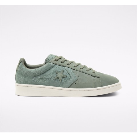 Converse Earth Tone Suede One Star Academy Low Top - Green Unisex Shoe 167889C