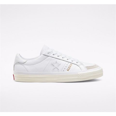 Converse Cons One Star Pro AS - White Women's Skate Shoe 168658C