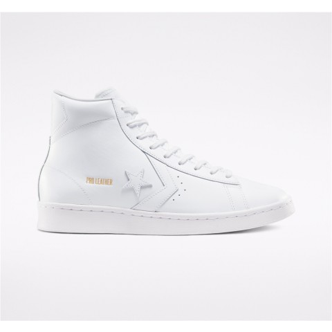 Converse All Star Pack Pro Leather High Top - White Unisex Shoe 166810C