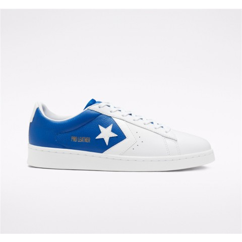 Converse Psychedelic Hoops Pro Leather Low Top - Blue Unisex Shoe 167590C