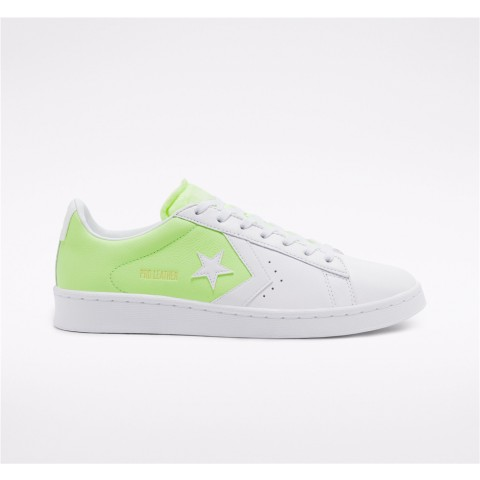 Converse Psychedelic Hoops Pro Leather Low Top - Green Unisex Shoe 167591C