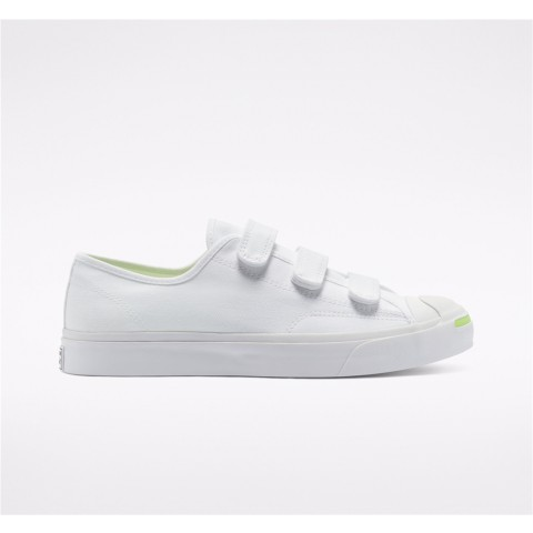 Converse Easy On Jack Purcell Low Top - White Unisex Shoe 168137C